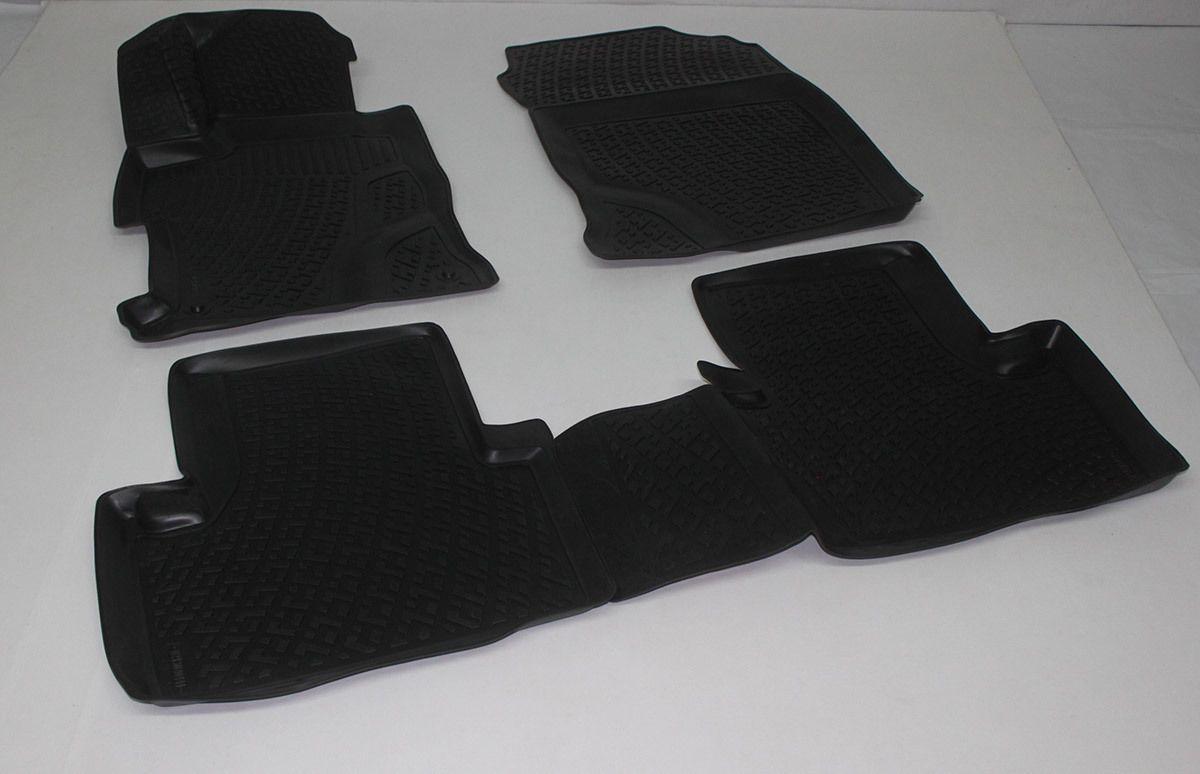 Gumové koberce Honda Civic IX Sedan (FB4/FG3/FB2/FG4/FB6) (4-dv) (11-) (3D) SIXTOL