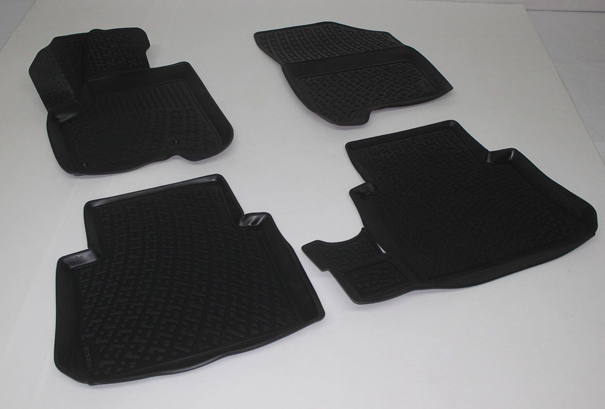 Gumové koberce Citroen C3 Picasso (09-) (3D) SIXTOL
