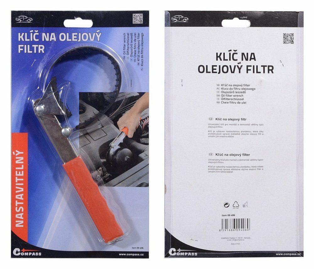 Klíč na olejový filtr PROFI, COMPASS