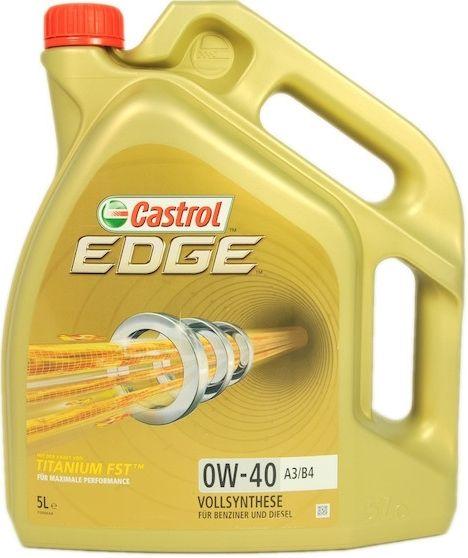 Motorový olej Castrol EDGE 0W40 TITANIUM FST A3/B4 4L