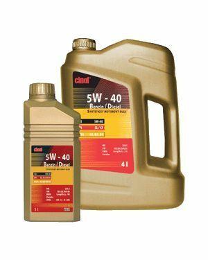 Cinol 5W-40 Benzin/Diesel - 10L