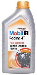 Motocyklový olej Mobil 1 Racing 4T 15W50 1L