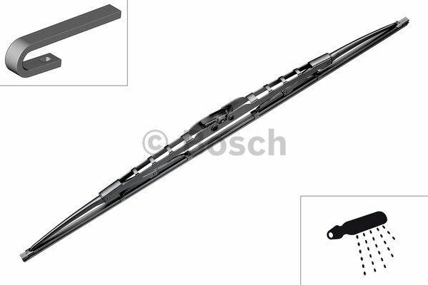 Stěrač Bosch 700 mm BO 3397004080, BOSCH