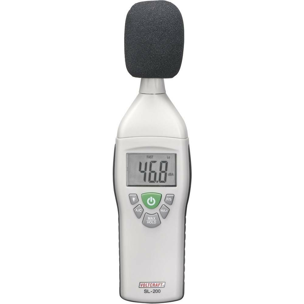 Digitální hlukoměr Voltcraft SL-200,31,5 - 8000 Hz