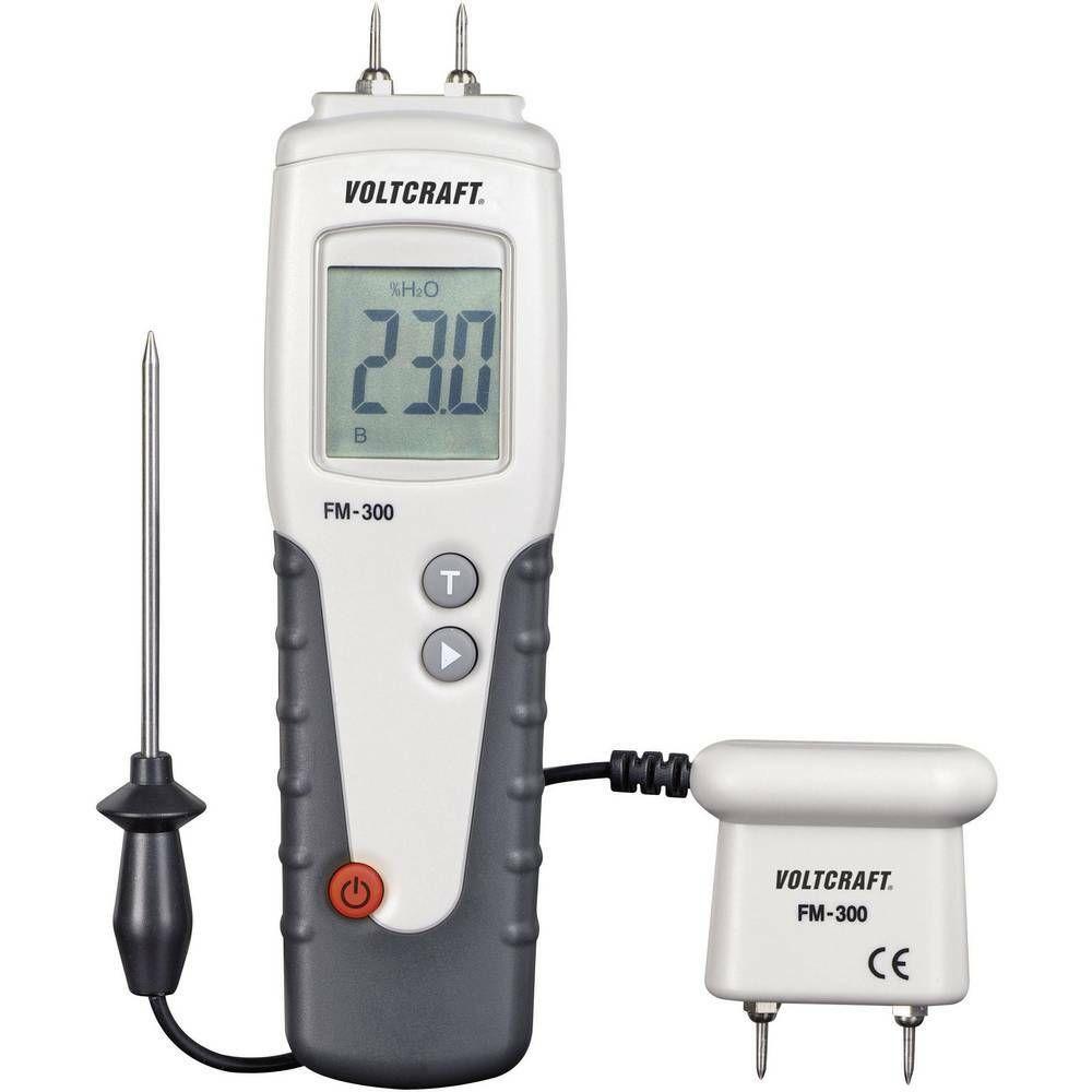 Měřič vlhkosti dřeva Voltcraft FM-300