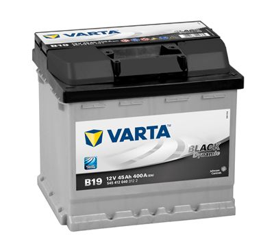 Baterie Varta Black Dynamic 12V 45Ah 400A, 5454120403122, VARTA