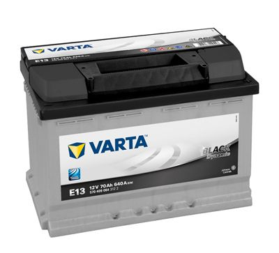 Varta Black Dynamic 12V 70Ah 640A, 5704090643122