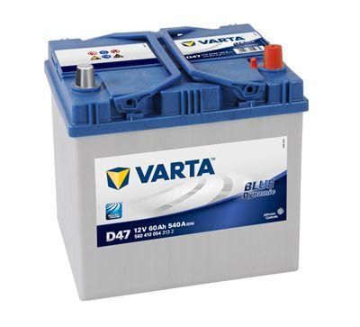 Baterie Varta Blue Dynamic 12V 60Ah 540A, 5604100543132, VARTA