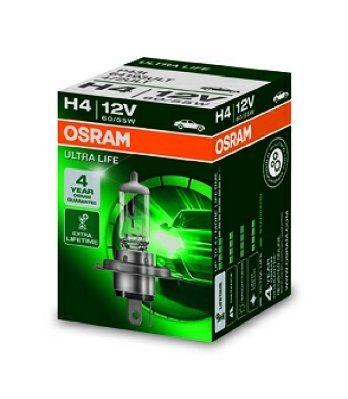 Žárovka OSRAM H4 12V 60/55 W P43t, 64193ULT