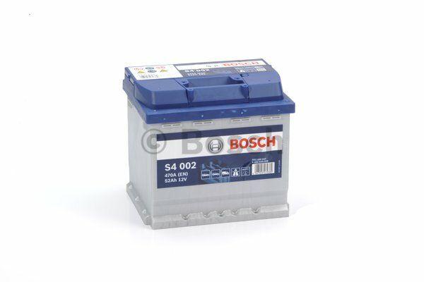 Baterie Bosch S4 12V 52Ah 0092S40020, BOSCH