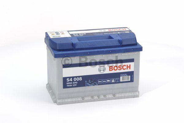 Baterie Bosch S4 12V 74Ah 0092S40080, BOSCH