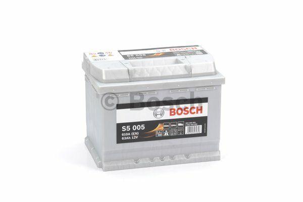 Baterie Bosch S5 12V 63Ah 0092S50050, BOSCH