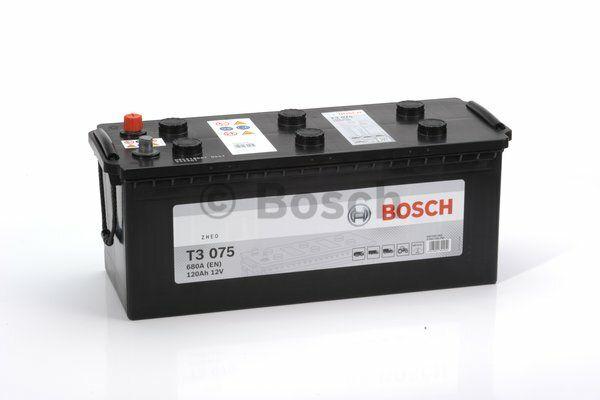 Baterie Bosch T3 12V 120Ah 0092T30750, BOSCH