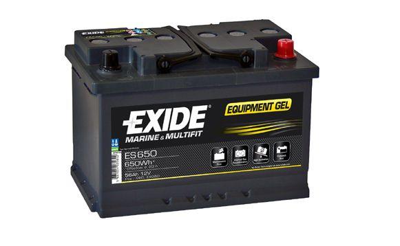 Baterie Exide 12V 56 Ah ES650, EXIDE