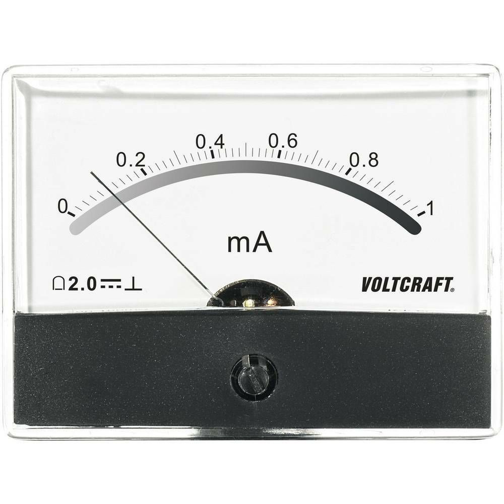 Analogové panelové měřidlo VOLTCRAFT AM-86X65/1MA 1 mA CONRAD