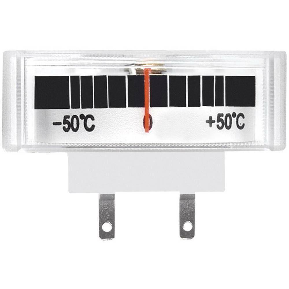 Panelové měřidlo teploty Voltcraft AM-39X14/TEMP, - 50 až + 50 °C CONRAD