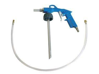 Stříkací pistole ke konzervaci spodku vozidla, kompletní s ochranou hadicí, PROFI AIR PROFI-AIR