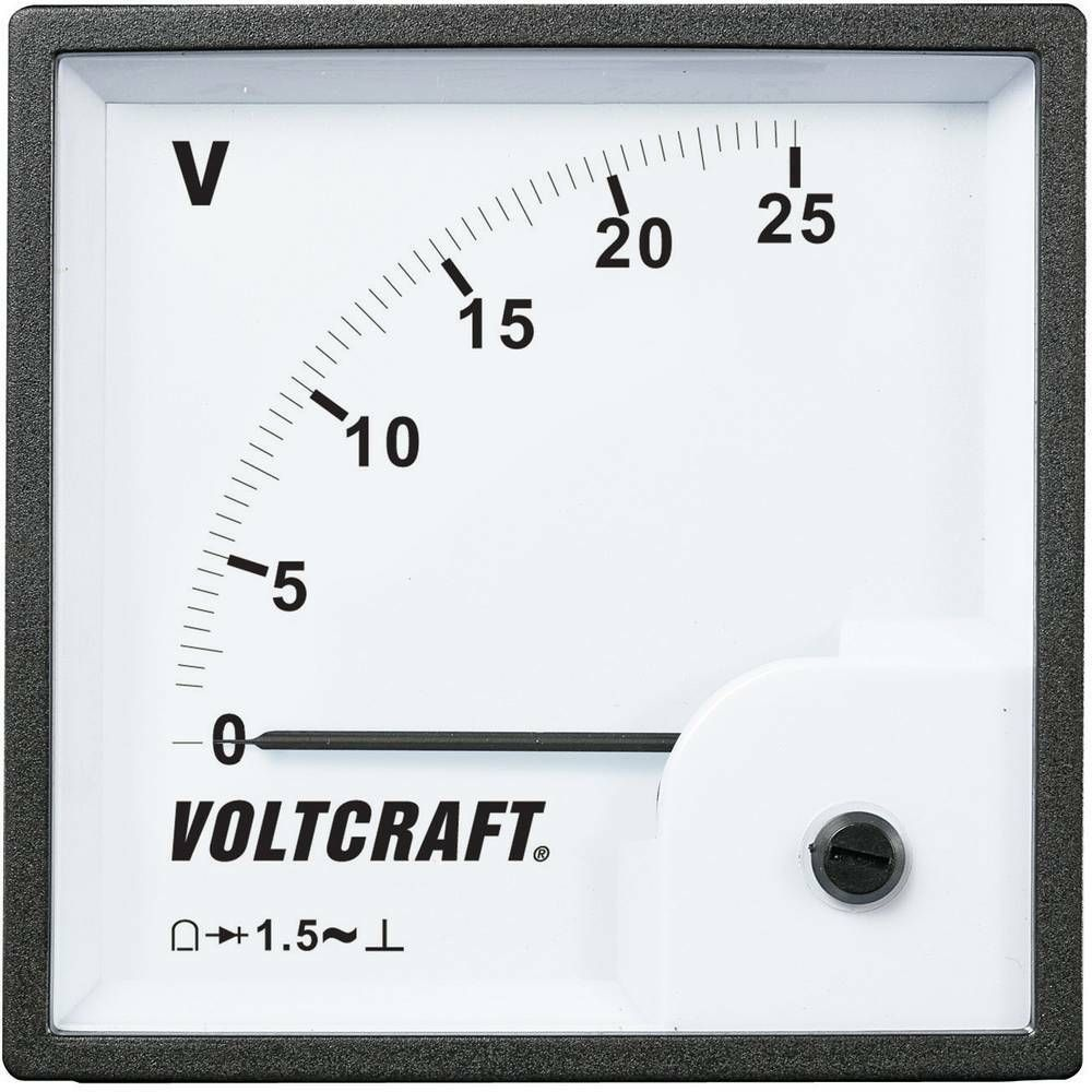 Analogové panelové měřidlo VOLTCRAFT AM-96x96/25V 25 V CONRAD