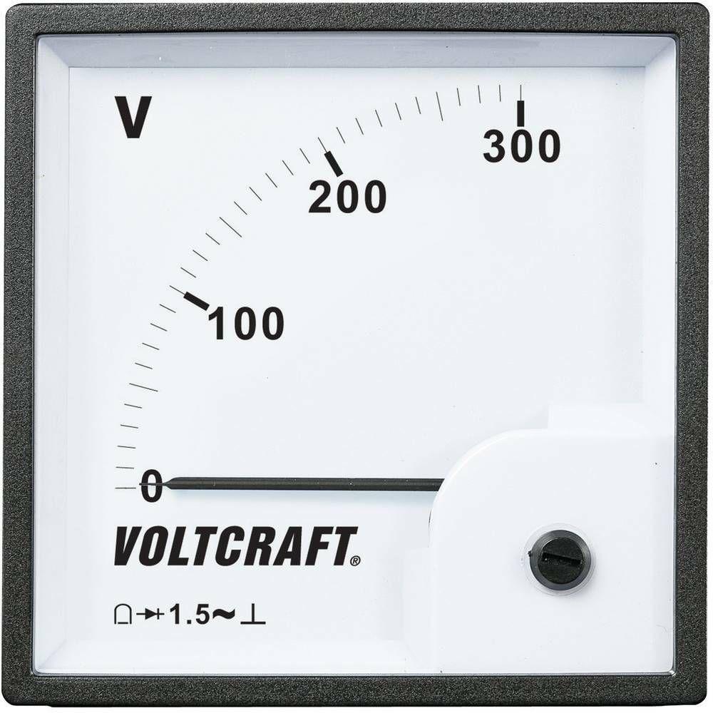 Analogové panelové měřidlo VOLTCRAFT AM-96x96/300V 300 V CONRAD