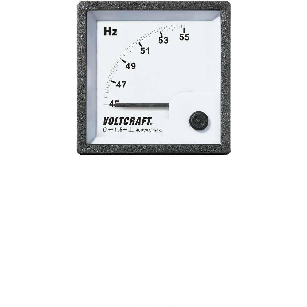 Analogové panelové měřidlo VOLTCRAFT AM-72X72/50HZ 45 - 55 Hz CONRAD