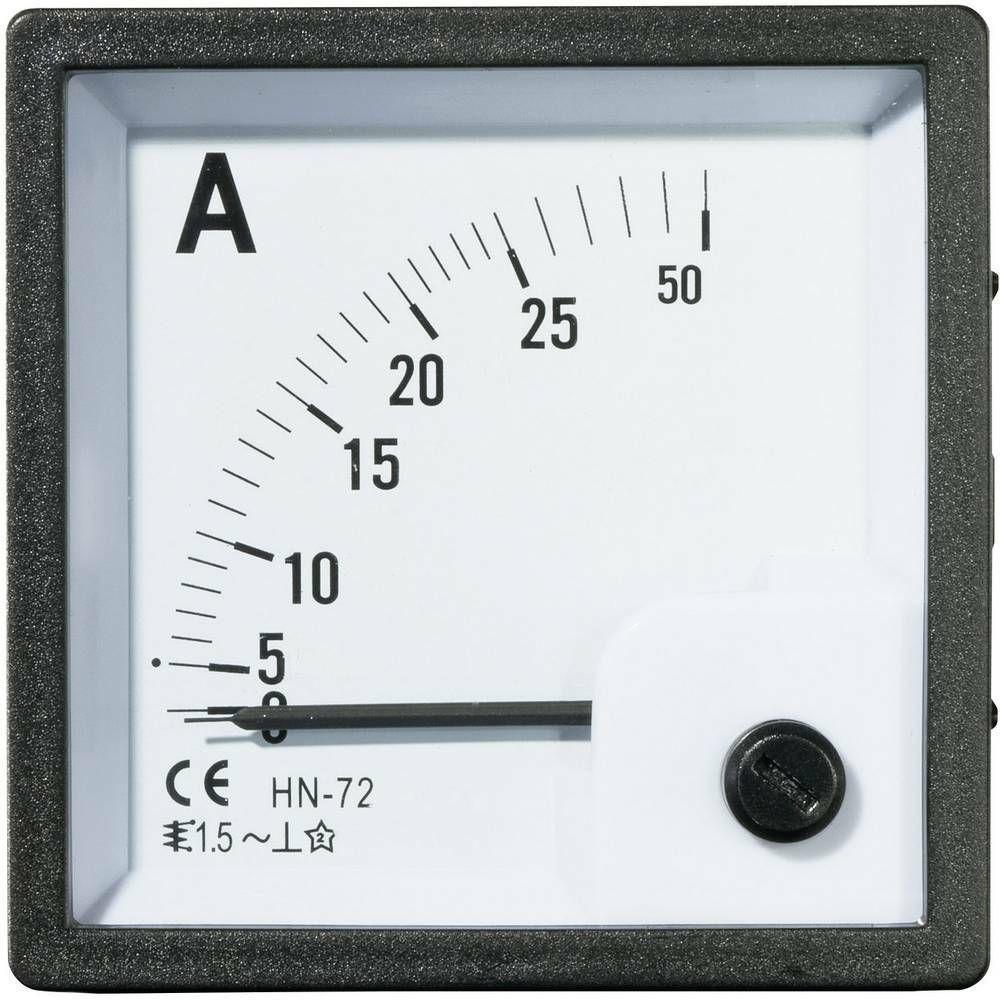 Analogové panelové měřidlo VOLTCRAFT AM-72X72/25A 25 A CONRAD