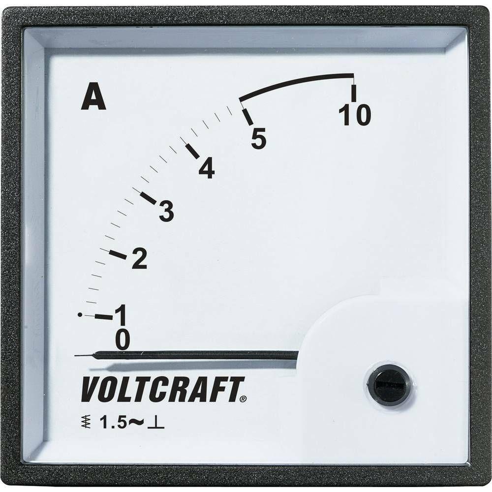 Analogové panelové měřidlo VOLTCRAFT AM-96X96/5A 5 A CONRAD