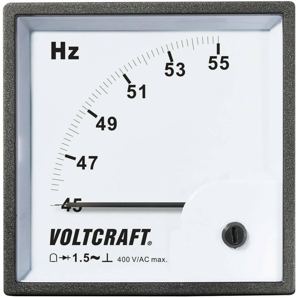Analogové panelové měřidlo VOLTCRAFT AM-96X96/50HZ 45 - 55 Hz CONRAD
