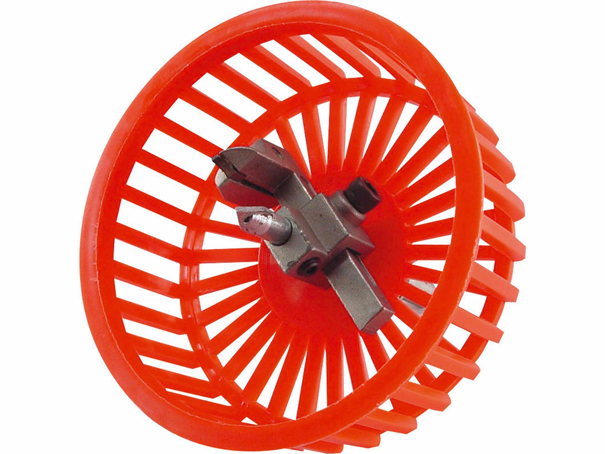 Řezač otvorů do kachliček s krytem, O 20-94mm, uchycení do vrtačky EXTOL-CRAFT