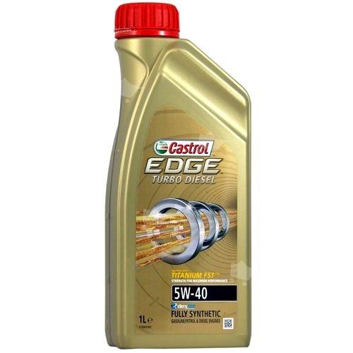 Motorový olej Castrol EDGE TURBO DIESEL 1L 5W40 TITANIUM
