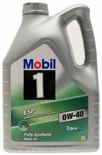 Motorový olej Mobil 1 ESP 0W40 5L