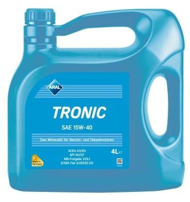 Motorový olej Aral Tronic 15W40 4L