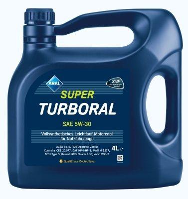 Motorový olej Aral SuperTurboral 5W30 4L