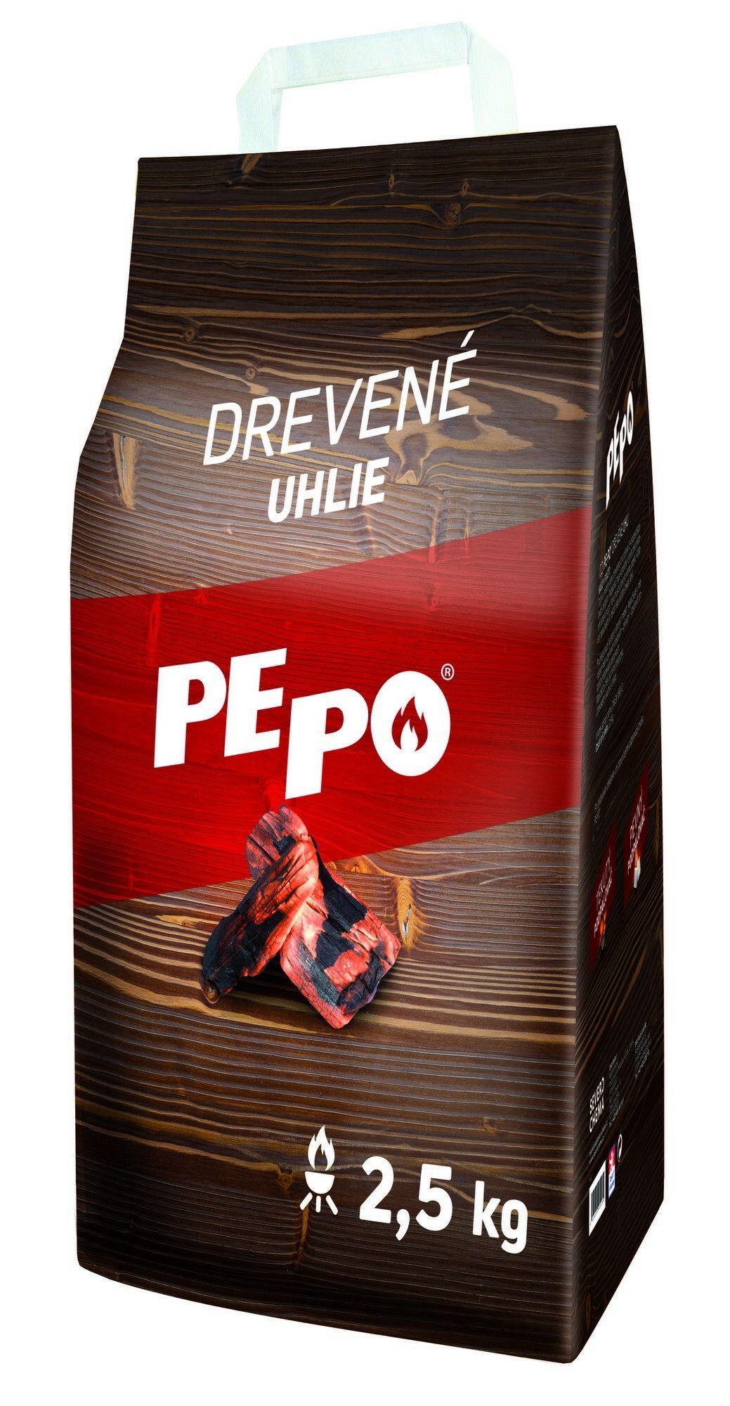 PE-PO dřevěné uhlí 2,5 kg PEPO