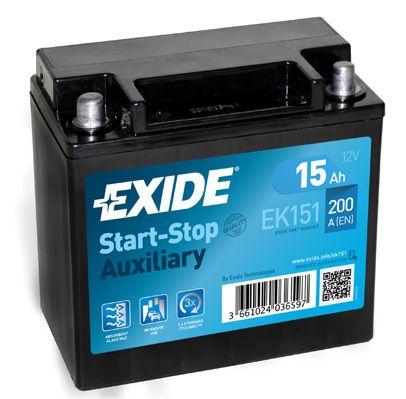 Baterie Exide 12V 15Ah EK151, EXIDE