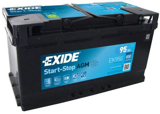 Baterie Exide 12V 95Ah EK950, EXIDE