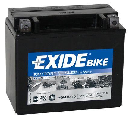 Baterie Exide 12V 10Ah AGM12-10, EXIDE