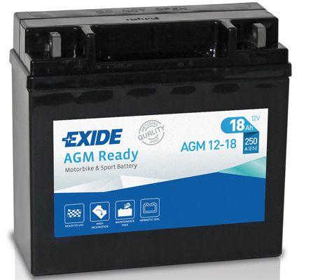 Baterie Exide 12V 18Ah AGM12-18, EXIDE