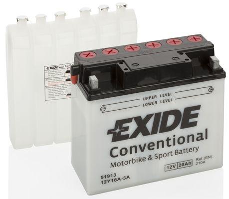 Baterie Exide 12V 20Ah 12Y16A-3A, EXIDE
