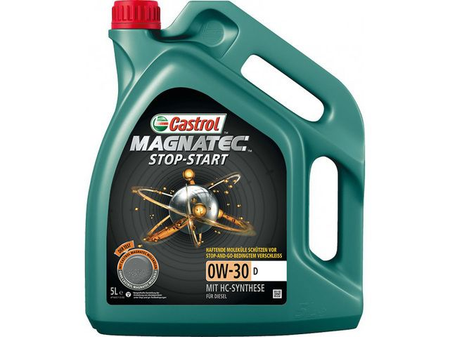 Motorový olej Castrol MAGNATEC STOP-START 0W30 D 5L
