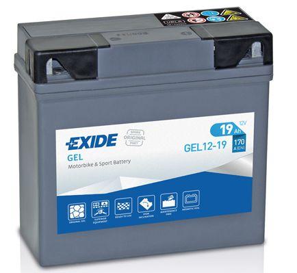 Baterie Exide 12V 19 Ah GEL12-19, EXIDE