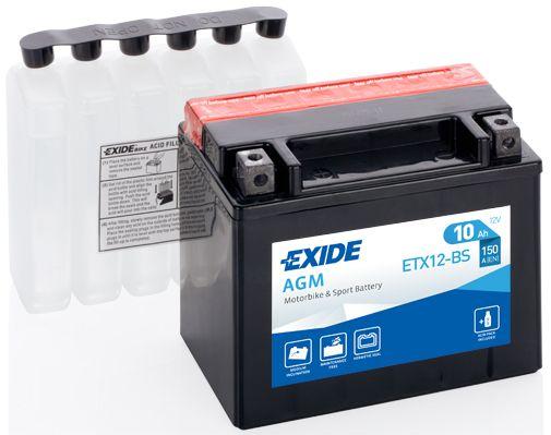 Baterie Exide 12V 10Ah ETX12-BS, EXIDE