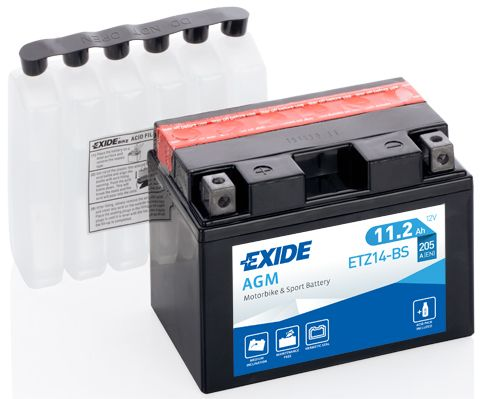 Baterie Exide 12V 11,2Ah ETZ14-BS, EXIDE