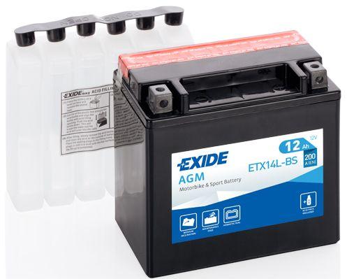 Baterie Exide 12V 18Ah ETX20HL-BS, EXIDE