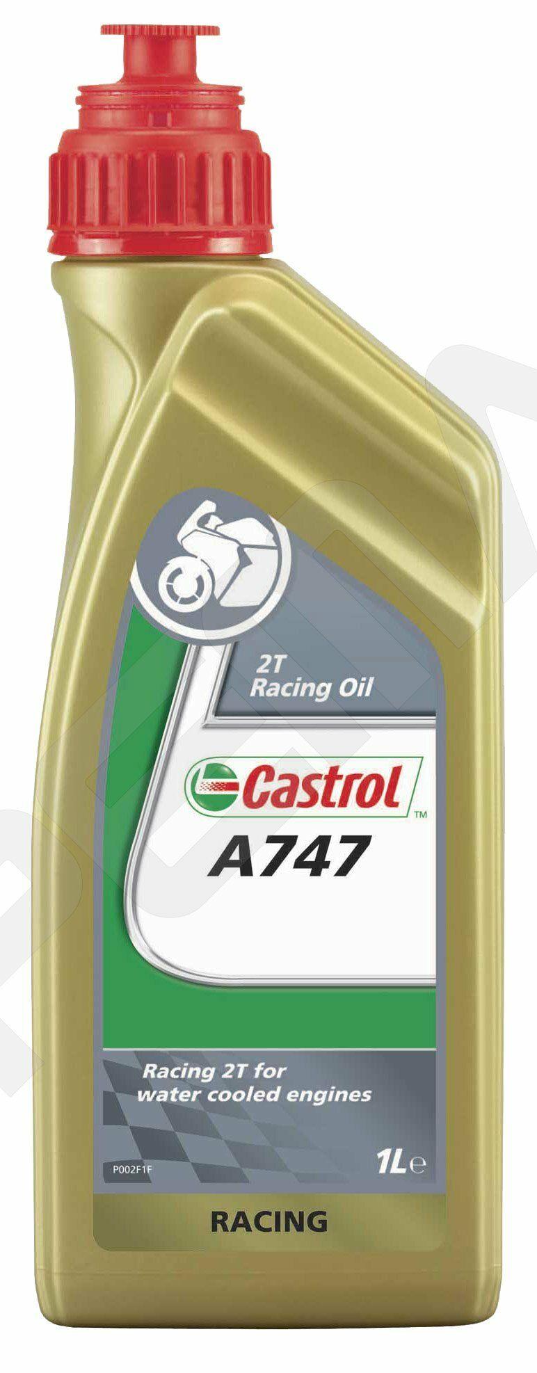 Motocyklový olej Castrol 1L A747