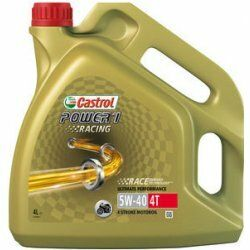 Motocyklový olej Castrol POWER1 RACING 4T 5W40 4L