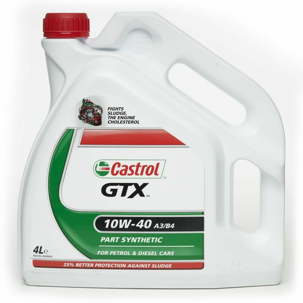 Motorový olej Castrol GTX A3/B3 15W40 4L