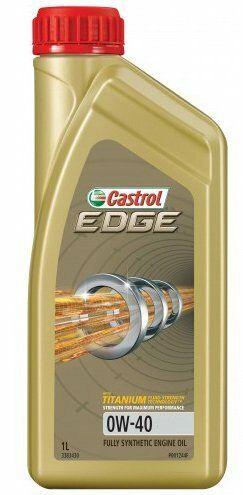 Motorový olej Castrol EDGE 1L 0W40 TITANIUM FST C3
