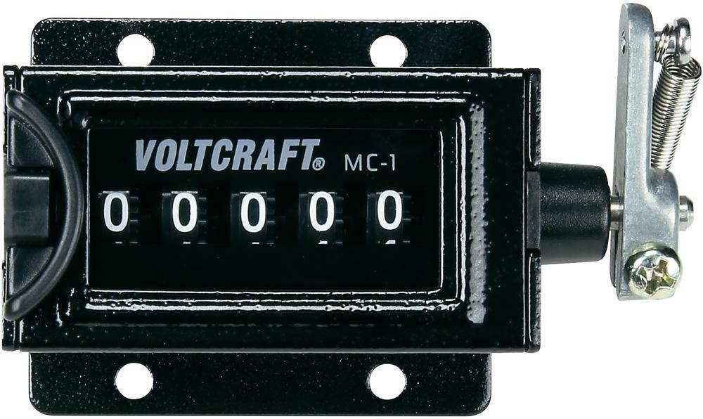 Mechanický čítač Voltcraft MC-1