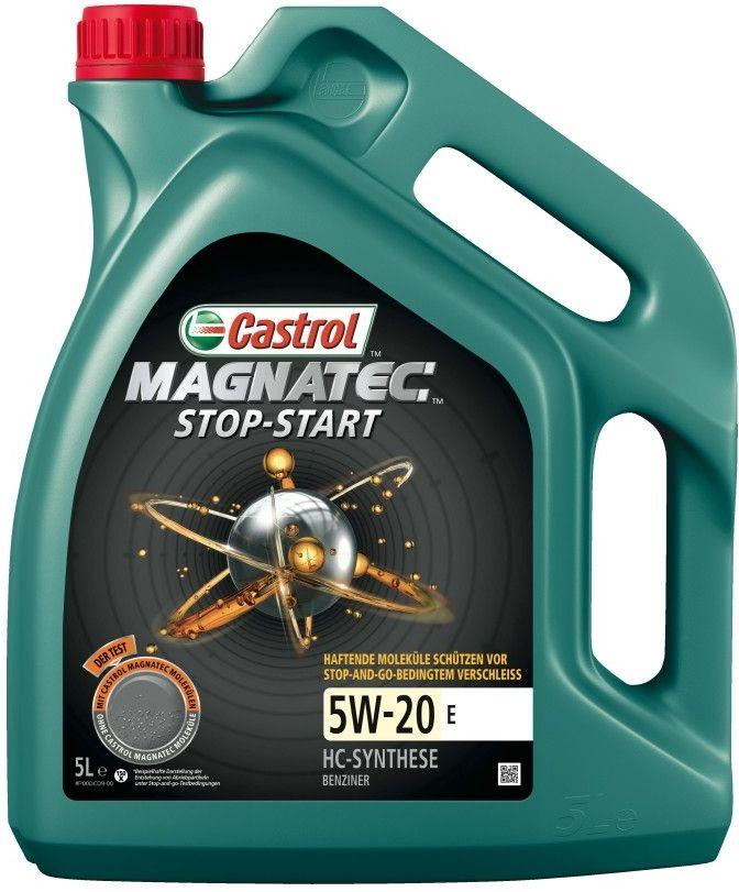 Motorový olej Castrol MAGNATEC STOP-START 5W20 E 4L