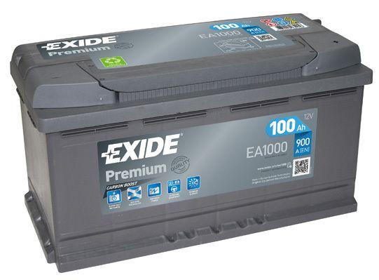 Baterie Exide 12V 100Ah EA1000, EXIDE